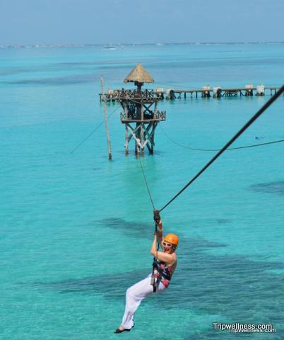 Elaine Masters, Ziplining,Trip Wellness