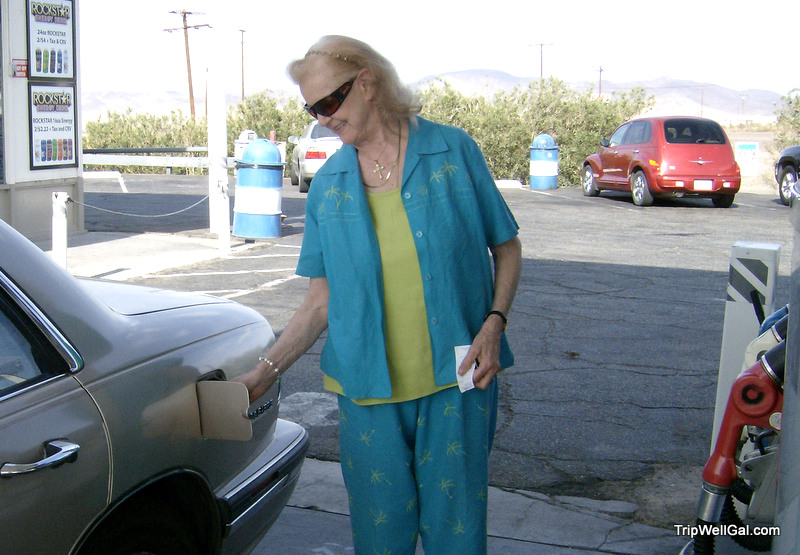 Gassing up on the Arizona Highway