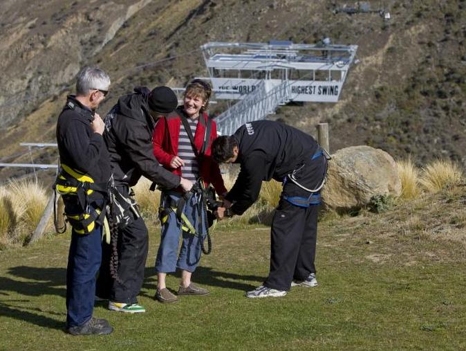 Bungee jump readiness