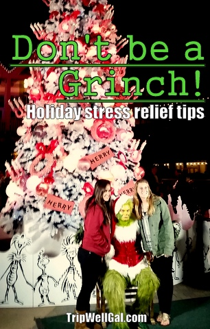Grinch Tree Holiday Stress Pin
