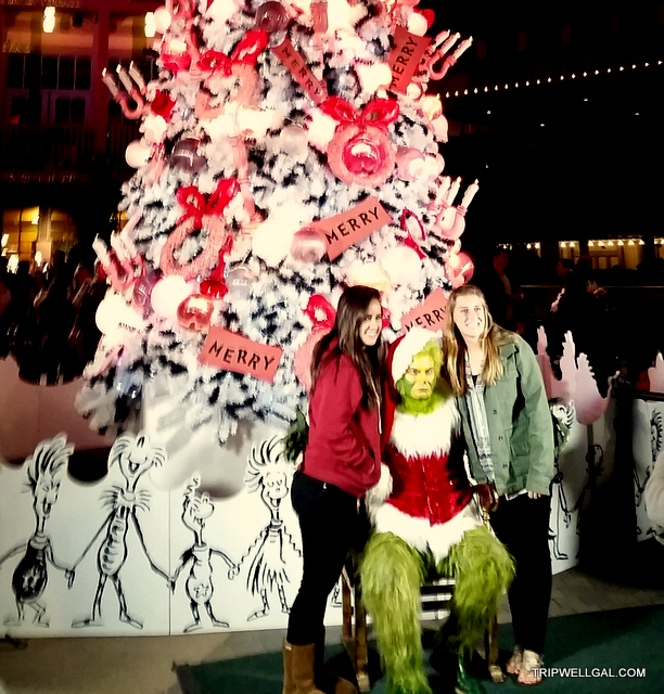 Grinch tree Balboa Park Holiday Stress busting