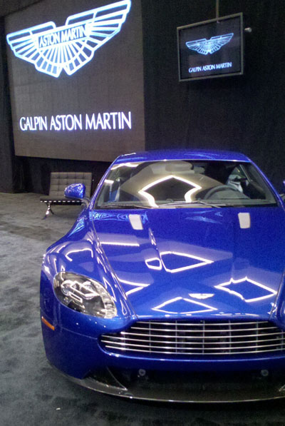 Aston Martin L A Car Show