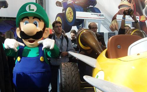 Mario Ninetendo LA Car Show
