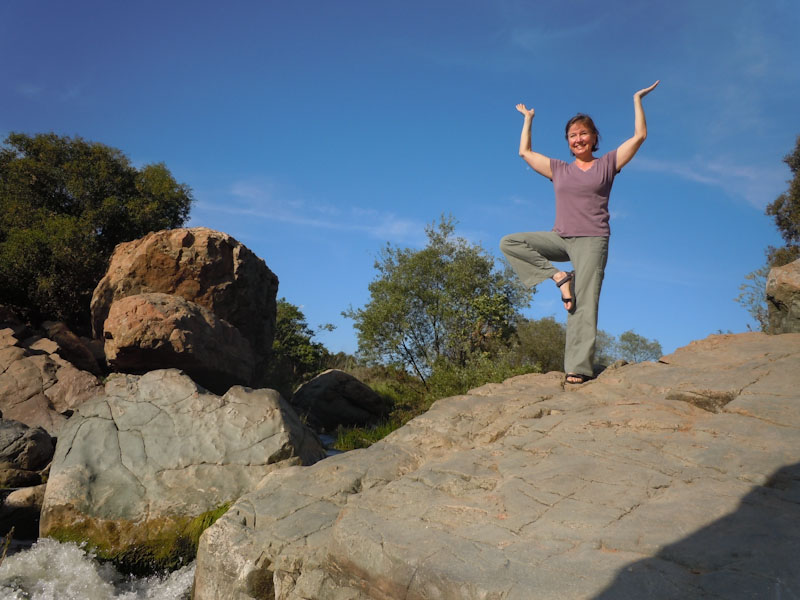 Travel Yoga – PDAs (Public Displays of Asanas)