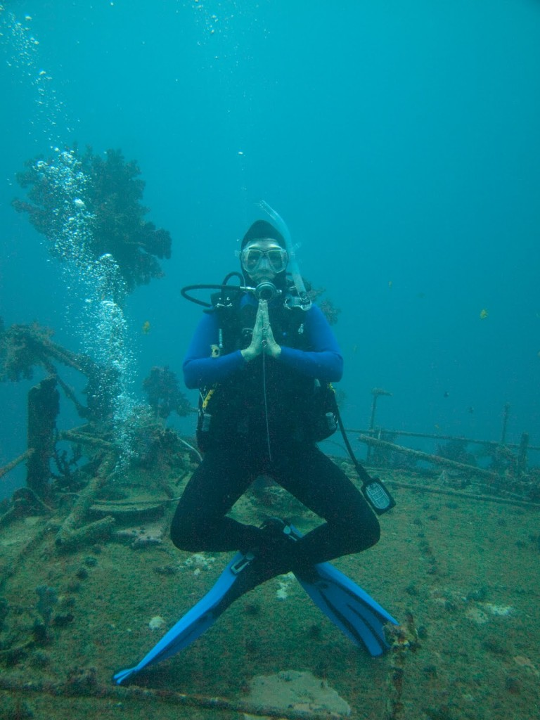 Elaine Masters, Wreck diving BVI's, Trip Wellness