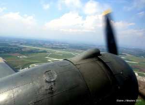 In Flight from the Canadian Warplane Heritage Museum