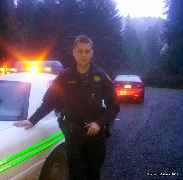 Sheriff Matt McCroskey, spare tire, trip wellness