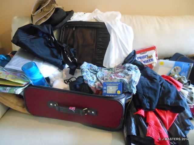 travel packing tips, trip wellness