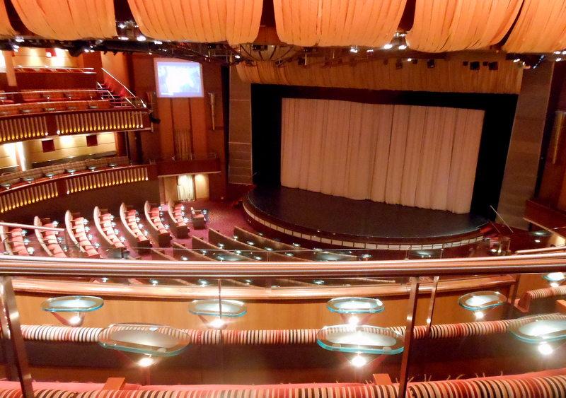 Celebrity Infinity Theater, trip wellness, luxury cruising