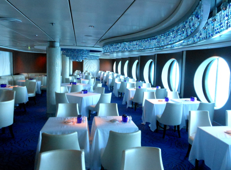 Celebrity Infinity, Blu, trip wellness, luxury cruising