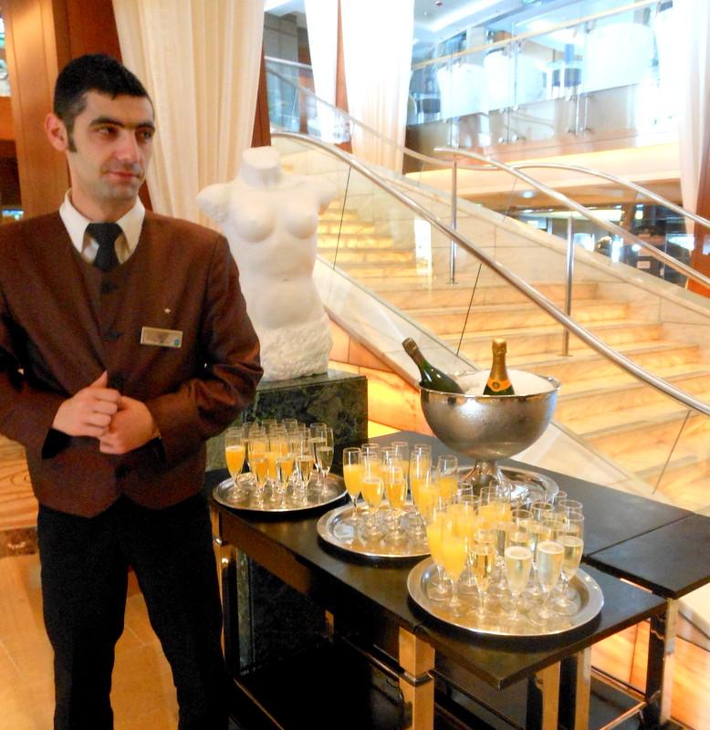 Mimosas, trip wellness, luxury cruising
