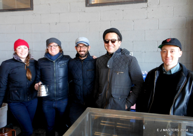 Blue Bottle Coffee Crew, Highline Park, NYC, trip wellness, walking tours in new york