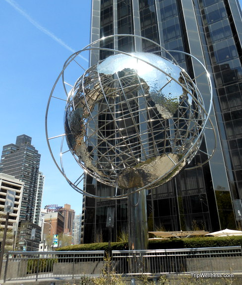 New York Globe, trip wellness, walking tours in new york
