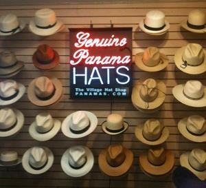 Your travel hat – Come visit the Village Hat Shop