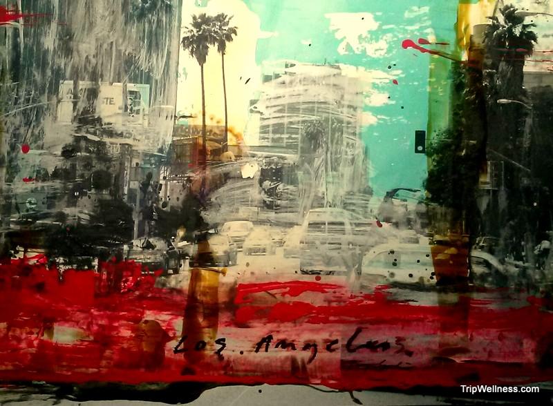 los angeles painting, trip wellness