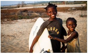 surf kids, kwepunha resort, trip wellness