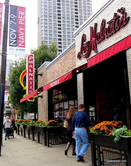 lou malnatis, chicago food tour, trip wellness