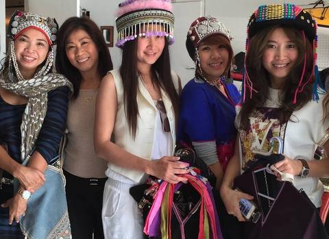 Models preview Tribal fashions, tripwellness, toys for thailand