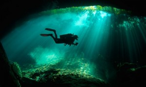 Diving Cenotes, Nancy DeRosa, Trip Wellness