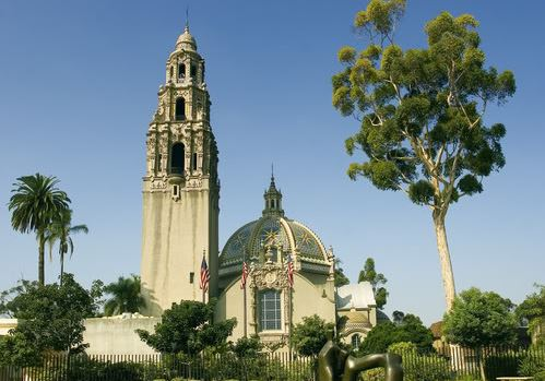 California Tower, Balboa Park, trip wellness, what to see in San Diego