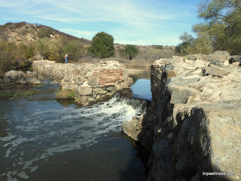 Mission Trails park creek, trip wellness, what to see in san diego