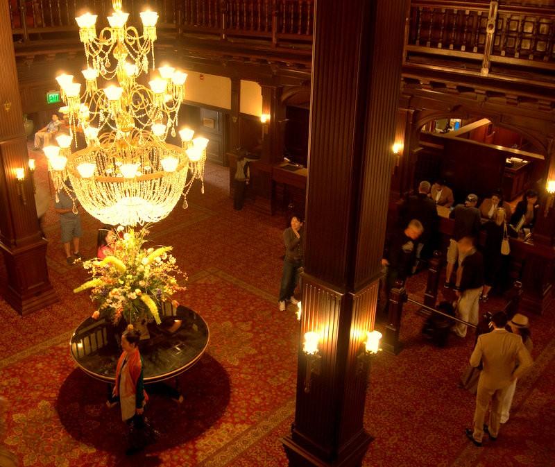 Hotel Del Coronado lobby, trip wellness, San Diego Historic Hotels
