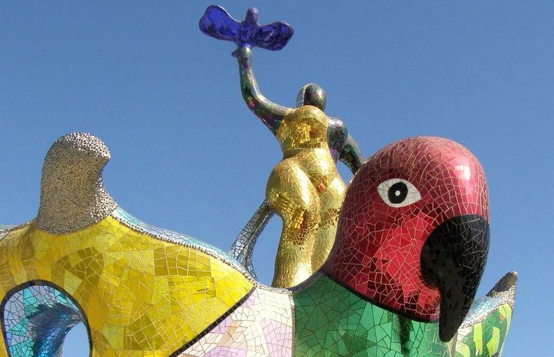 Queen Calafia's Magical Garden, San Diego Less Traveled, Trip Wellness