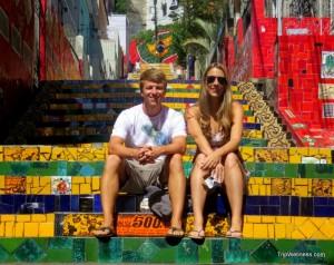 Selaron Staircase - Rio de Janeiro, trip wellness