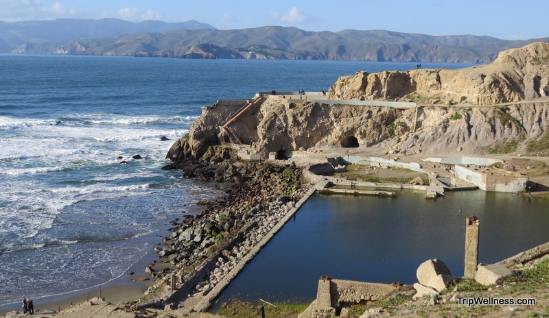 things to do in San Francisco, trip wellness, sutro baths