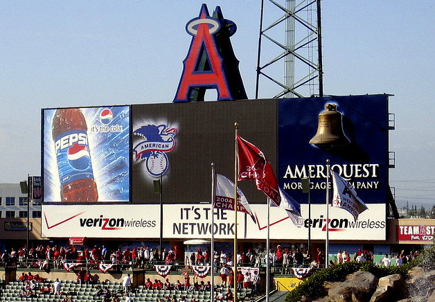 Angel Stadium by Aaron Silvers, visiting anaheim, trip wellness