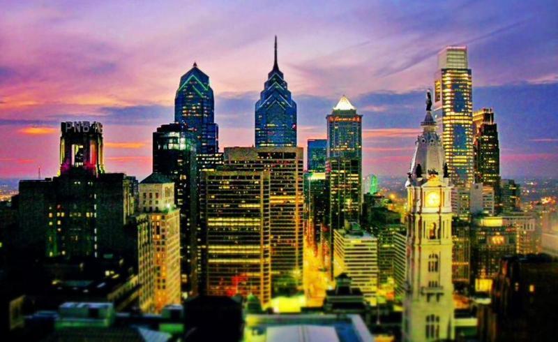 Philadelphia Skyline Photo Megan Smith Via Trover