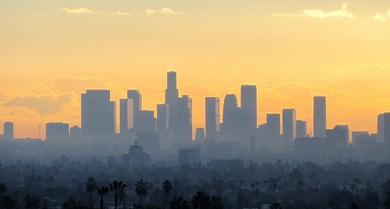 Los Angeles Sunrise, Photo by Doug Richardson via Trover