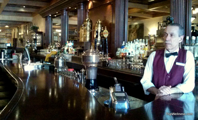 The bar and service are first class inside Caesars. Day trip Tijuana. Tripwellness