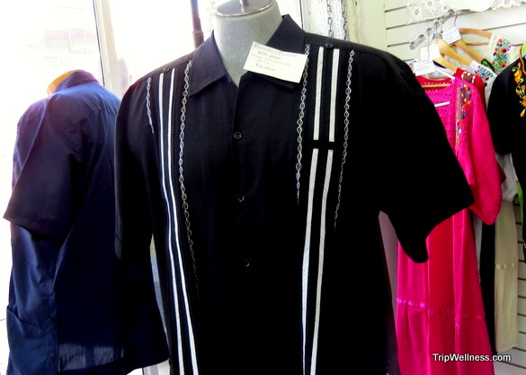 Guayabera shirts at Hand Art.