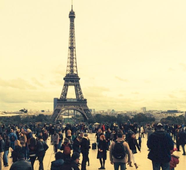 Romance at the Eiffel Tower. Avoiding crowds. tripwellness