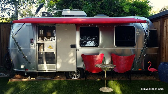 Airstream at Metro Hotel in Petaluma