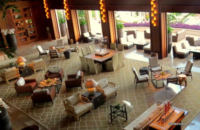 Lobby in the Four Seasons Lana'i