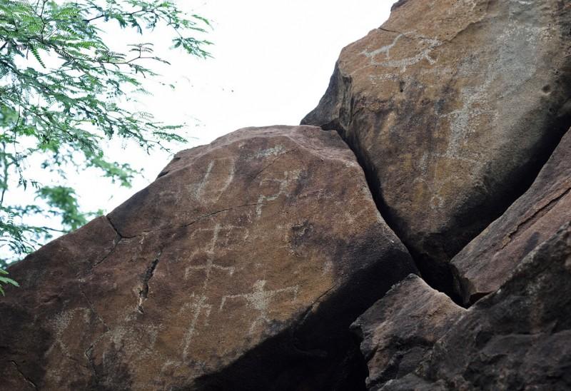 Lanai Petroglyphs