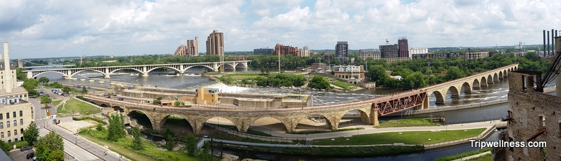Discover riverside Minneapolis – The Stone Arch Bridge trail