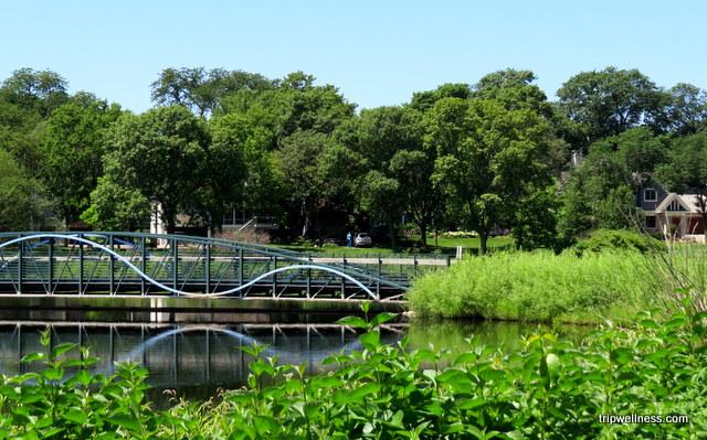 Bridge near Lake Harriet in Minneapolis