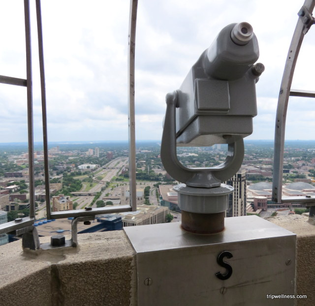 View from Foshay Tower, Minneapolis