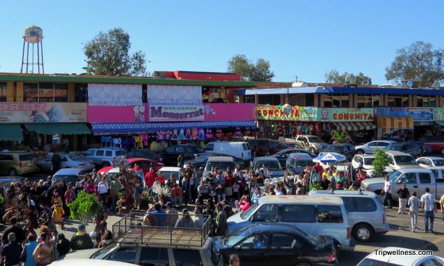 Inside Mercado Hidalgo, Tijuana