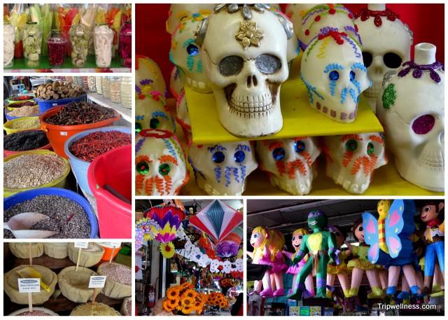 Shopping in Mercado Hidalgo, Tijuana