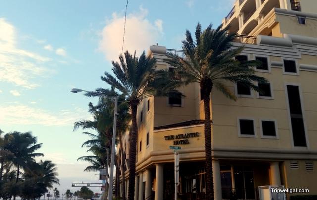 Street view Atlantic Hotel, Fort Lauderdale