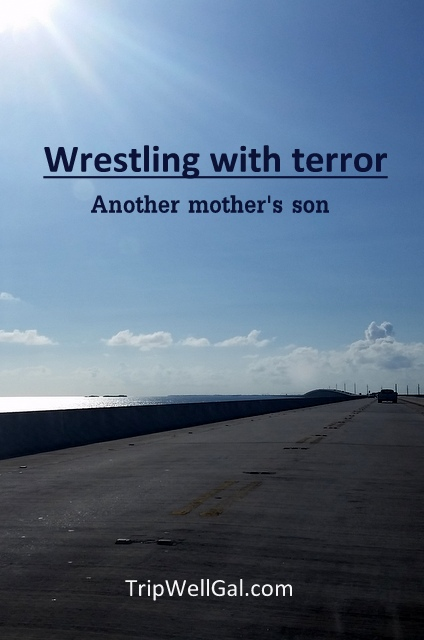wrestling with terror pin