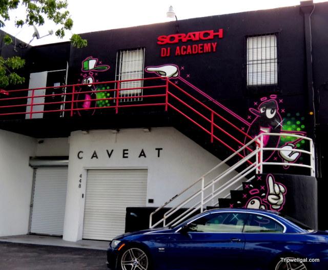 DJ studio, Wynwood district