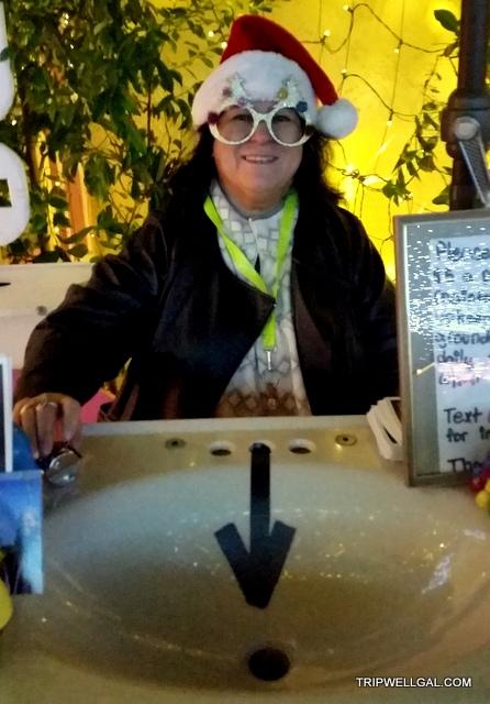 robolights volunteer holiday lights in Palm Springs
