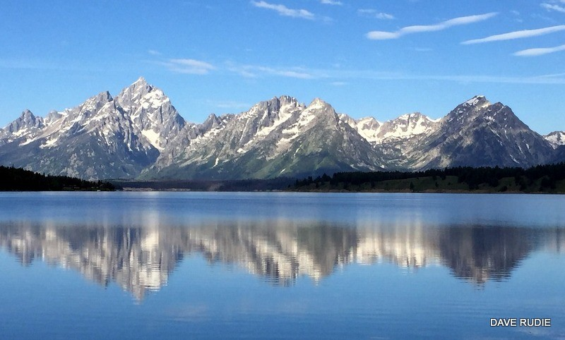 Grand Teton lake from the best pictures