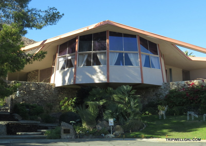 Elvis left but his honeymoon residence remains in Palm Springs.