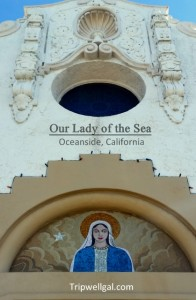 Our lady of the sea chapel in Oceanside